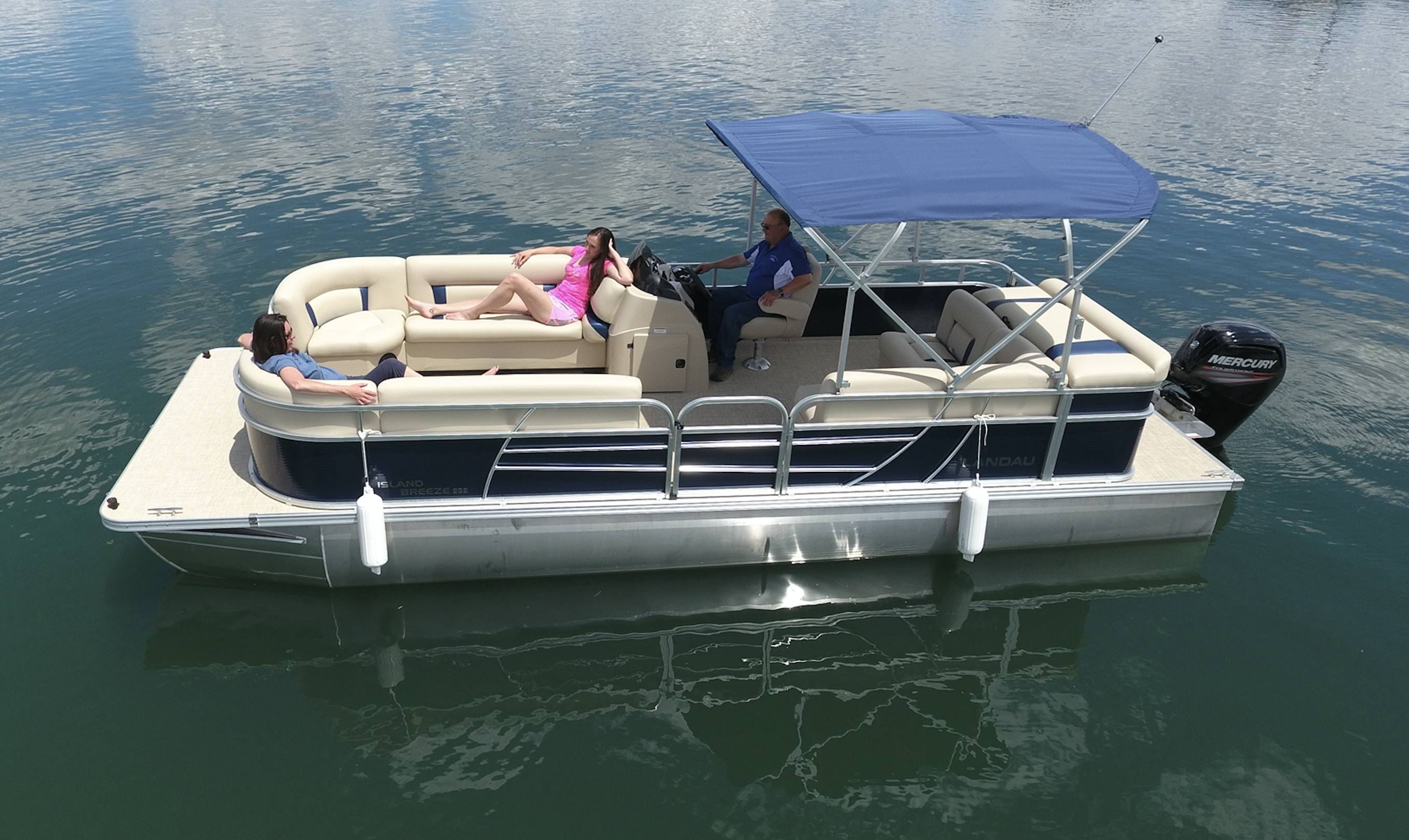 Watch How to Construct an Overnight Pontoon Boat video